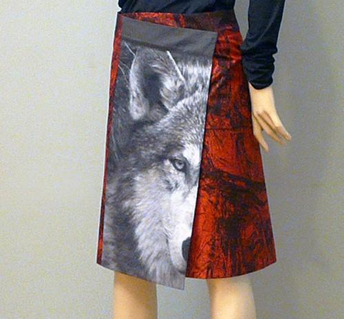 anett-franke-taf-woman-leipzig-rock-kultur-wickelrock-wolf-wald-kunst