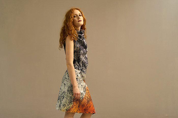 orange,rock,mode,design,leipzig,seidenmalerei,anettfranke, Taf Woman02462